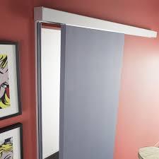 panneaux acoustiques bois rail coulissant et habillage swing acoustique artens pour porte