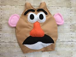 tutorial on how to make a mr potato head costume for under 10
