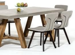 Grey Leather Dining Chair Zach Modern Grey Eco Leather Dining Chair Set Of 2