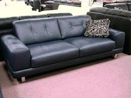 Navy Blue Leather Sofa Navy Blue Leather Furniture Sofa Living Room Contemporary With