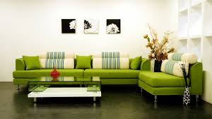Green And White Living Room Ideas Home Decorating Interior - Green living room design