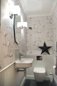cloakroom bathroom ideas bathroom wallpaper ideas for bathroom 42 white with forest
