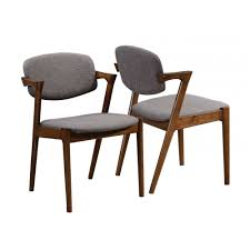 mid century modern dining side chair pack of two
