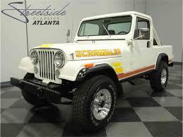 scrambler jeep years 1984 jeep cj8 scrambler for sale classiccars com cc 839071