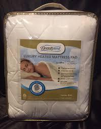 beautyrest heated mattress pad review