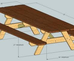 Plans For Picnic Tables by Ada Compliant Picnic Tables 5 Steps With Pictures