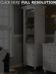 the most stylish and beautiful bathroom linen closet home cabinet