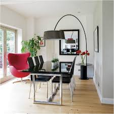 Tiny Dining Tables Arch Floor Lamp Over Dining Table For Small Dining Room