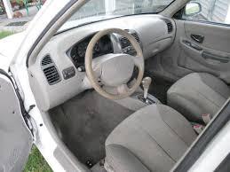 hyundai accent 4 door sedan find used 2002 hyundai accent gl sedan 4 door 1 6l in carey ohio
