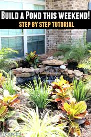 How To Build Backyard Pond by 20 Innovative Diy Pond Ideas Letting You Build A Water Feature