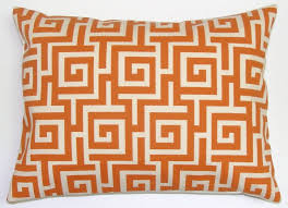 orange decorative pillows for couch house decorations and furniture
