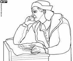 christopher columbus discovery america coloring pages