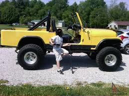 jeep scrambler lifted jeep cj8 scrambler 350 v8