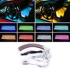 app controlled car lights car interior atmosphere light app control music rgb led for bmw e46
