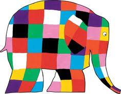 Elmer The Patchwork Elephant Story - elmer the patchwork elephant coloring page based on the story by