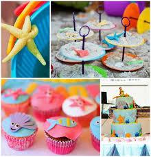 Ocean Cake Decorations Kara U0027s Party Ideas Under The Sea Party Planning Ideas Supplies