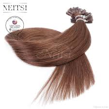 Human Hair Glue In Extensions by Neitsi Usa Stock 20 U0027 U0027 Pre Bonde U Tip Human Hair Extensions 25g1g