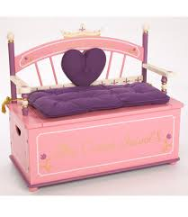 Toy Bench Cushion Princess Toy Box Bench Dress Up Storage Room I Want To Make