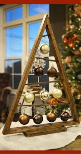 Christmas Ornament Holders Rustic Wood Christmas Tree That U0027s Over 2 Feet Tall Love This As An