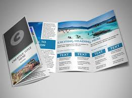 travel and tourism brochure templates free sided tri fold brochure template free tri fold brochure