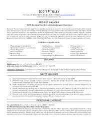 Analyst Resume Examples by Resume Examples For Project Managers Best Free Resume Collection