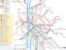 Map Of Budapest Budapest Subway Map My Blog