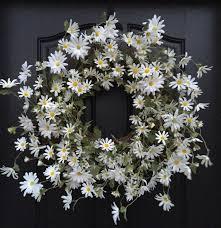 items similar to wreath wreaths white