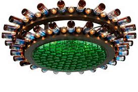 Diy Bottle Chandelier 25 Creative Wine Bottle Chandelier Ideas Hative