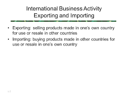 globalization and international linkages ppt