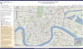 Map New Orleans New Orleans Exploration Of Urban Soul Exploring The Fringe Of