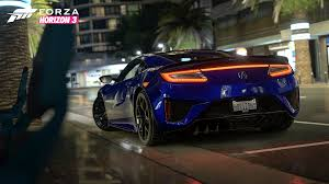 2017 honda nsx 4k wallpapers forza horizon 3 wallpapers pictures images