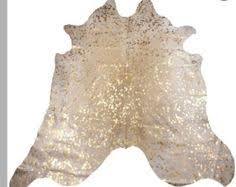 metallic cowhide rug in gold www decohides com your source for