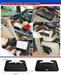 Auto Laptop Desk by Tfy Auto Desk Steering Wheel Attachment For Note Taking Laptop Or