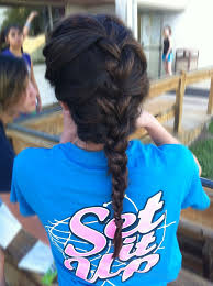 Cute Sporty Hairstyles 99 Best Volleyball Hair Images On Pinterest Hairstyles Braids