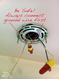 Ground Wire For Ceiling Fan by How To Install A Hard Wired Pendant Light Pretty Handy