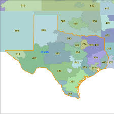 Free Zip Code Map by Texas Area Code Maps Texas Telephone Area Code Maps Free Texas
