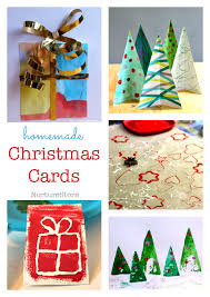 easy christmas cards for children to make nurturestore