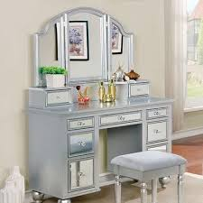 Silver Bedroom Vanity 15 Best Vanity Images On Pinterest Bedroom Vanities Vanity Set