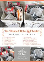 date gifts give the gift of pre planned dates gift