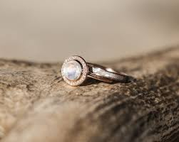 moonstone engagement rings terra in moonstone 14k gold diamond halo available in