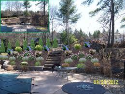 Steep Slope House Plans Triyae Com U003d Landscaping Backyard With Slope Various Design