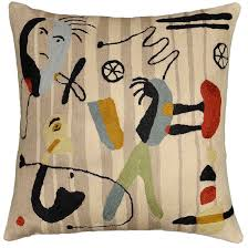 Throw Pillows Sofa by Miro Faces Beige Tan Camel Ivory Accent Sofa Pillows Couch