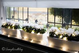 window sill decorations for songbird