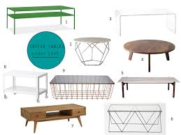 Affordable Coffee Tables Boho Bungalow Roundup Coffee Tables 400