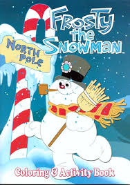 amazon com frosty the snowman coloring u0026 activity book toys