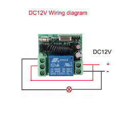 aliexpress com buy dc 12v 10a 1ch wireless rf remote control