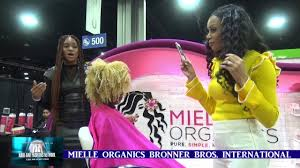 bonner brother winter hairshow in atlanta mielle organics at bronner bros international beauty show 70th