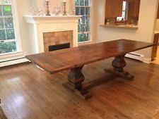 Reclaimed Wood Dining Room Furniture Reclaimed Wood Dining Table Ebay