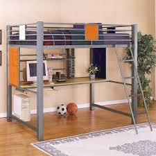 Powell Locker Room Style Full Study Loft Bed Richmond - Loft style bunk beds