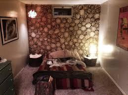 aspen wood wall bedroom aspen log wall cut with a chainsaw no sanding no